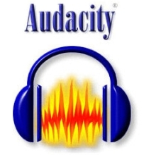 Registrare audio da pc - Logo Audacity