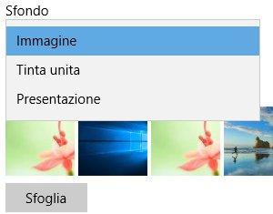 Come cambiare lo sfondo in Windows 10