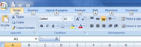 Excel: 20 tasti di scelta rapida - navigazione schede