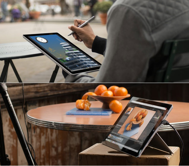 Foto del notebook 2 in 1 Surface Pro 4