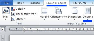 Come dividere un foglio Word in due parti (due colonne)