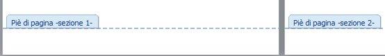 numerare le pagine di Word saltando le prime - sezioni