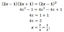 equazione di primo grado esercizio 13