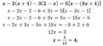 equazione di primo grado esercizio 9