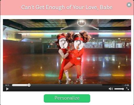 Montare video con facce su corpi di ballerini