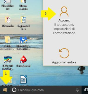 come disattivare la password di windows 10 - 1