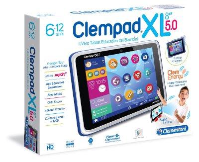 Tablet per bambini Clempad: caratteristiche e prezzo